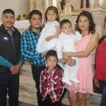 Reciben el bautismo los hermanitos Soto Solís