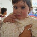 Bautizaron a la pequeña Thaily Soto García