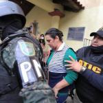 Ex primera dama hondureña capturada por malversación y lavado de activos