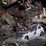Suben a 177 los desaparecidos en terremoto en Taiwán que ha causado 2 muertos