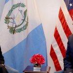 """Trump y Jimmy Morales abogan por """"restaurar la democracia"""" en Venezuela"""