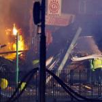 Una explosión en un edificio de Leicester causa cuatro heridos