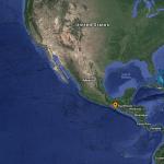 Ocurrió este viernes un sismo de magnitud 4.0 en Chiapas