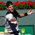 Federer y del Potro lucharán por el título en el desierto californiano