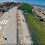 Inauguran malecón turístico en Perú, con inversión de 3 millones de dólares