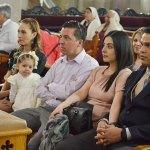 Fue arribada al templo la pequeña Jimena Villarreal Ibarra