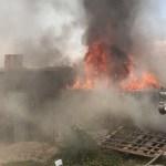 Arden cuatro viviendas precarias del Segundo predio El Rosario, al sur de la capital; solo daños materiales