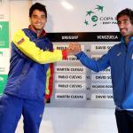 Cuevas y Souto abren la serie entre Uruguay y Venezuela de Copa Davis