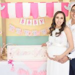 Una bonita fiesta de maternidad en honor de la pequeña Ariana Sofía