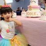 Celebró sus tres añitos la pequeña Jana Nicole López Lozano