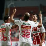 2-2. El paraguayo González anota dos goles y Necaxa empata con el Morelia