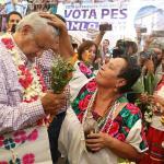 López Obrador define agenda en una campaña desangelada a 50 días de comicios
