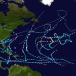 La tormenta Alberto, primera de la temporada del Atlántico, está estacionaria