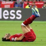 Salah recibe tratamiento en España tras su lesión, según Federación Egipcia
