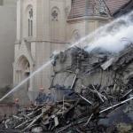 Reducen a cuatro los desaparecidos tras derrumbe de edificio en Sao Paulo