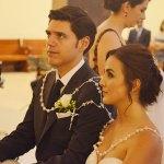 Enlazan su vida ante Dios, Erika y Francisco
