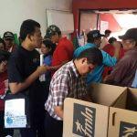 Presidente salvadoreño vota en elecciones primarias del izquierdista FMLN