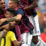 El ruido y el júbilo se toman Bogotá tras triunfo de Colombia ante Polonia