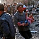 Aumentan a 15 los civiles muertos en bombardeos en el norte de Siria