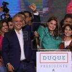 Colombia comienza transición de Santos a Duque con mirada puesta en la paz