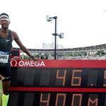 El catarí Abderrahman Samba entra en la historia de los 400 metros vallas