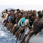 Interceptado un bote con 40 migrantes en la costa de Libia