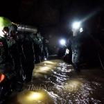 En marcha segunda fase de rescate de niños tailandeses