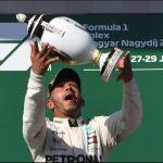 Hamilton refuerza su liderato al ganar por sexta vez en Hungría