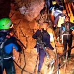 Rescatados 8 de los 13 atrapados en la cueva tailandesa, los últimos 4 hoy