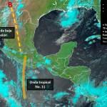 Canal de baja presión traerá a Durango lluvia en la Sierra Madre Occidental