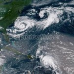 Tormenta Chris se aleja de la costa de EEUU y amenaza convertirse en huracán