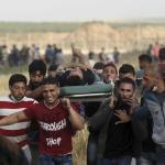 Un palestino muerto por fuego israelí en las protestas de Gaza