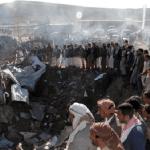 Al menos 17 muertos en bombardeo de la coalición árabe contra mercado yemení