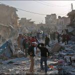Más de 20 muertos en ataques aéreos en el norte de Siria, según Observatorio