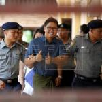 Un juez birmano aplaza una semana el fallo contra dos periodistas de Reuters