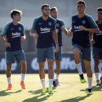 El Barcelona completa su segundo entrenamiento en San José sin Rafinha