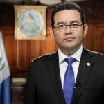 Jimmy Morales saca músculo militar para anunciar la salida de la Cicig