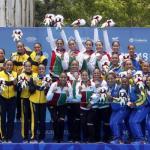 México se corona campeón de los juegos a falta de 42 oros por disputarse