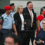 Pompeo llega a Kuala Lumpur en su primera visita al Sudeste Asiático