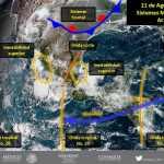 Continúa pronóstico de lluvias y clima caluroso en Durango