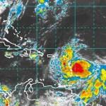 """La tormenta tropical Isaac avanza """"poco organizada"""" por el este del Caribe"""