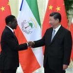 Xi Jinping y Teodoro Obiang se reúnen antes de la cumbre chino-africana