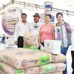 Arranca Lety Herrera programa de material subsidiado con recursos municipales