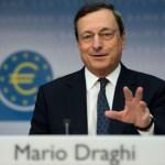 """Draghi: El efecto de las economías emergentes en la eurozona es """"limitado"""""""