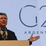 El día que comienza la cumbre del G20 será festivo en Buenos Aires