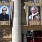 Las reliquias de Romero y Pablo VI ya están expuestas en plaza de San Pedro