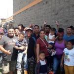 México recibe ya peticiones de refugio de migrantes de caravana hondureña