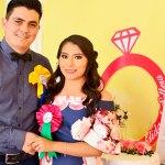 Se despiden de la soltería Gabriela Rivas Rodríguez y Sergio Rivas Leiva