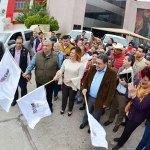 Envía Lety Herrera 3 mil prendas deabrigo a comunidades rurales y colonias