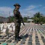 Dos detenidos y 336 paquetes de droga incautados en el Golfo de Panamá